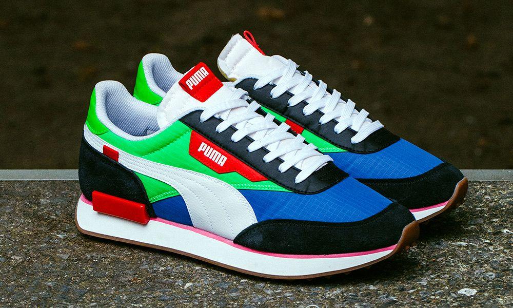 EXCLUSIVE: PUMA's Rider Sneaker Channels Classic '80s Designs