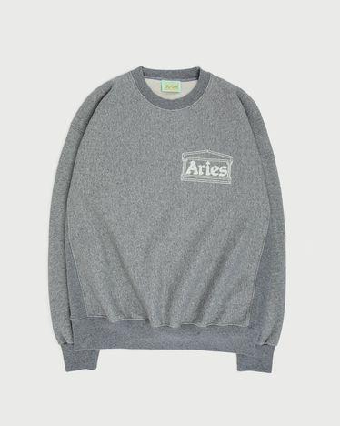 Aries - Premium Temple Sweatshirt Grey