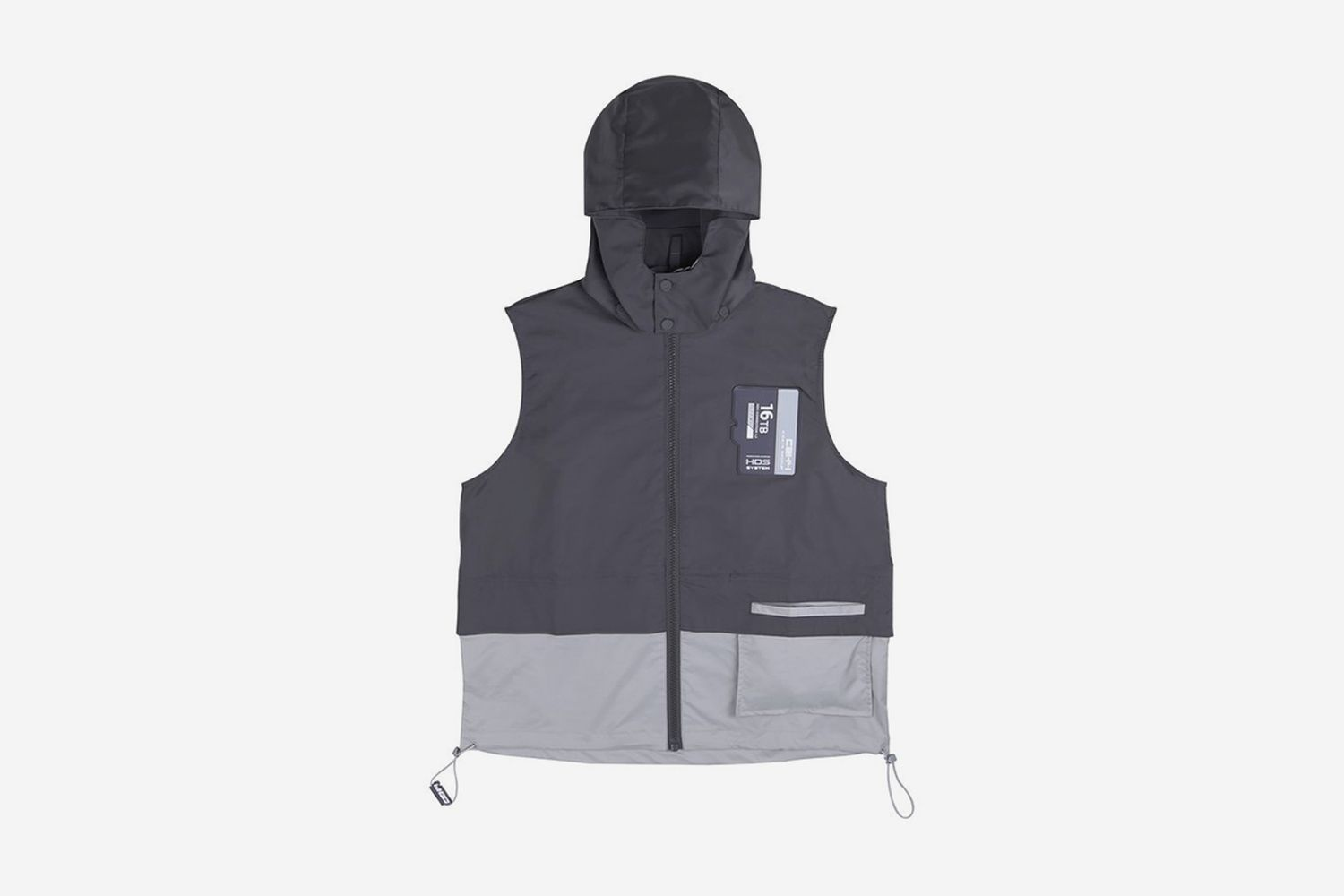 """FM-2030"" SD Card Layered Vest"