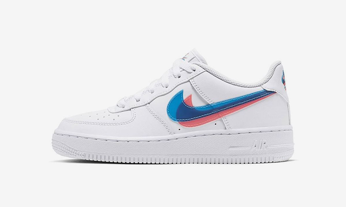 Nike Air Force 1 3D Swoosh: Official Release Information & Photos