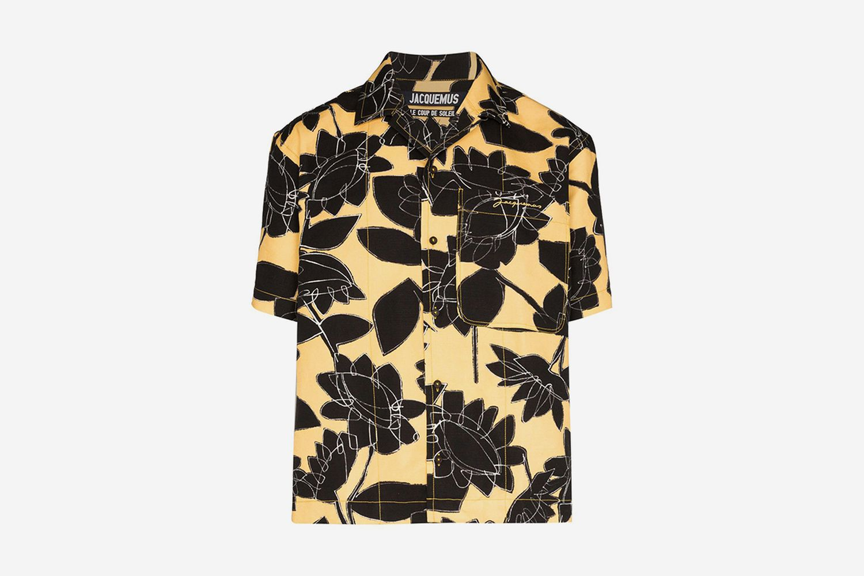 La Chemise Flower Print Shirt
