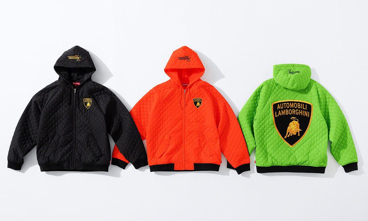 Supreme x Lamborghini SS20: Release Info & Official Images