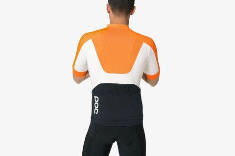 AVIP Ceramic High-Neck Zip-Up T-Shirt