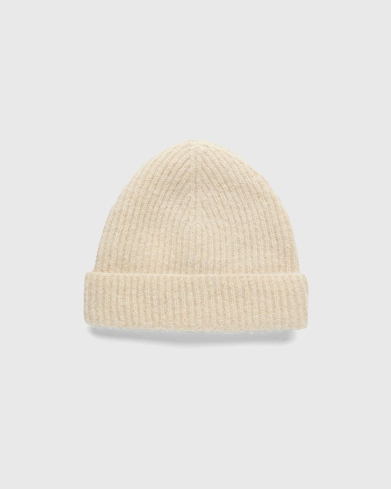 Our Legacy - Knitted Hat Camel Fuzzy Alpaca
