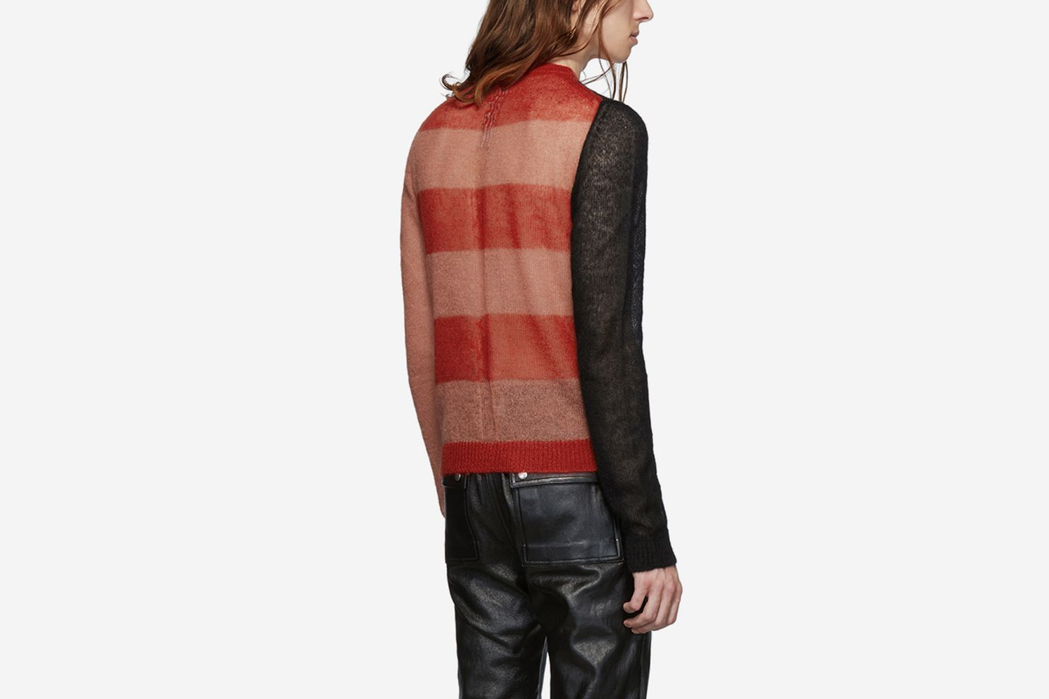 Cropped Biker Level Sweater