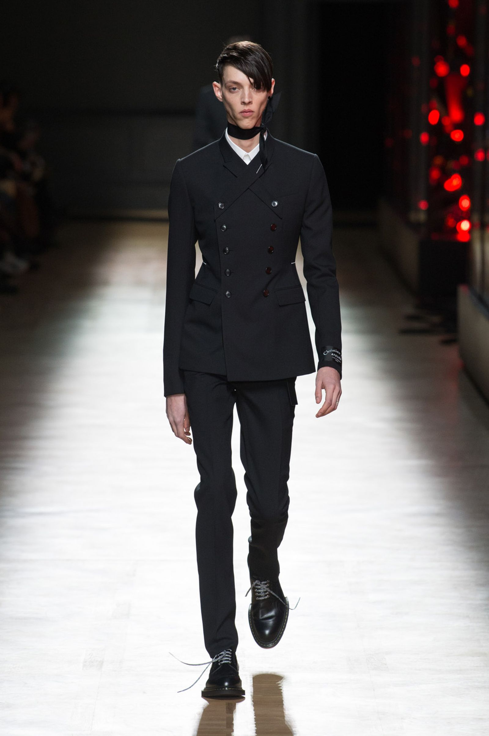 DIOR HOMME WINTER 18 19 BY PATRICE STABLE look04 Fall/WInter 2018 runway