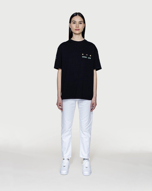 Highsnobiety — Inner Life T-Shirt Black - Image 3