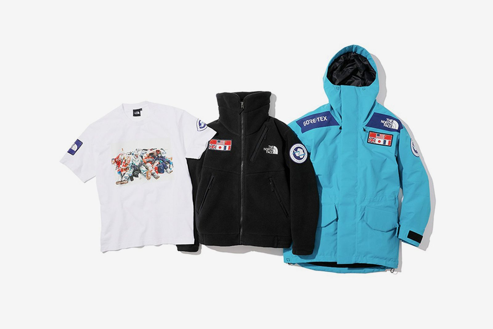 The North Face Trans-Antarctic collection