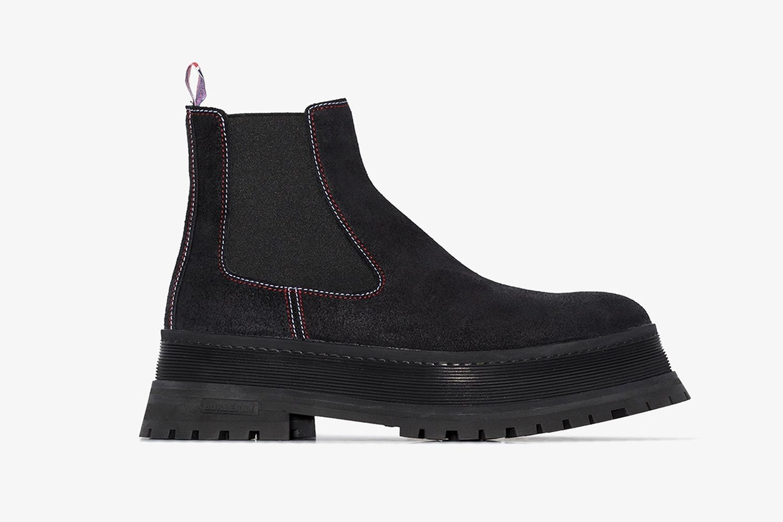 Jeffery Leather Chelsea Boots