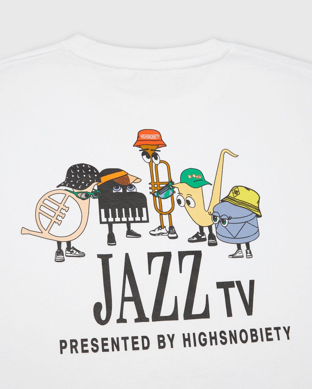 Highsnobiety — Jazz Ensemble T-Shirt White - Image 3