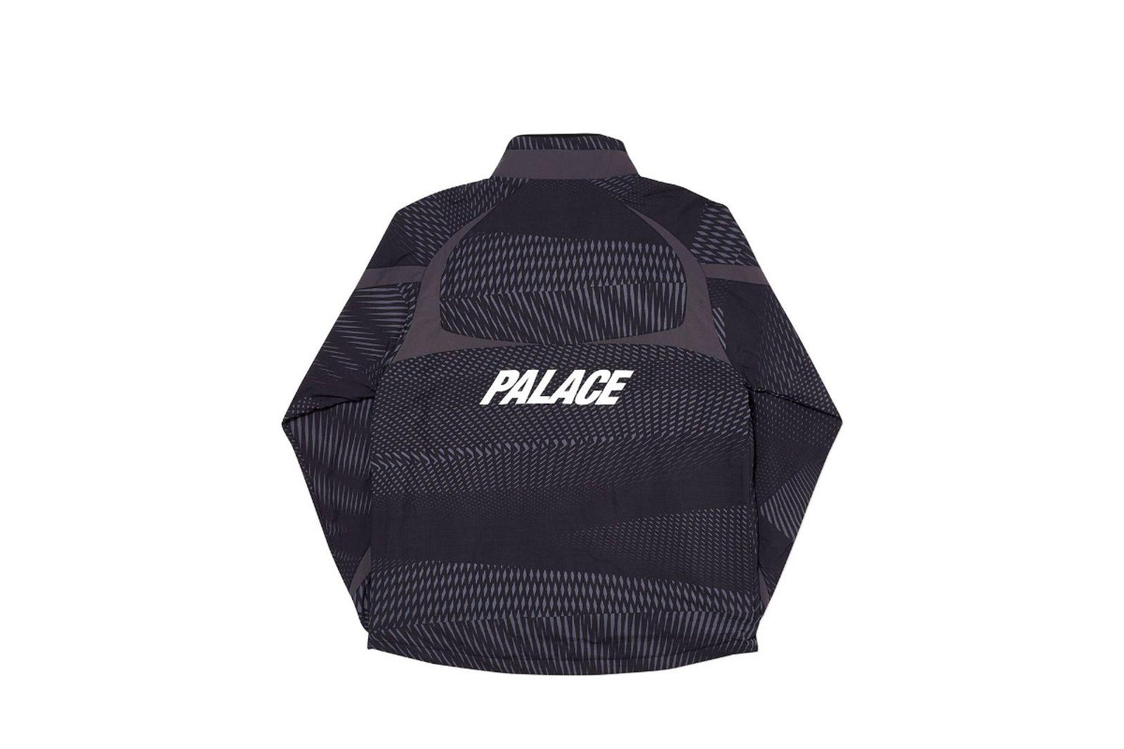 Palace 2019 Autumn Jacket Dazzler Shell black back