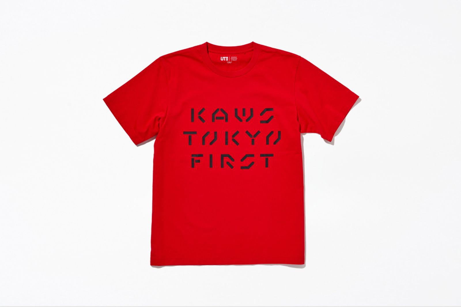 kaws tokyo first uniqlo ut companion tee shirt buy release date info