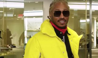 Future Spends $39K While 'Sneaker Shopping' at Barneys