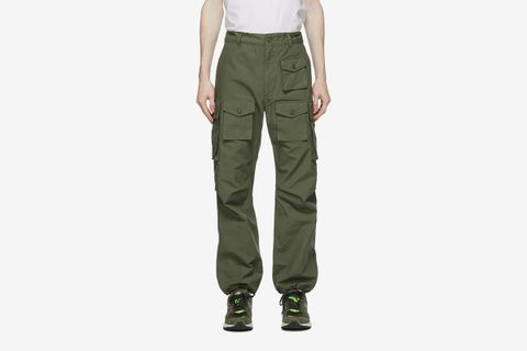 Cotton Ripstop Cargo Pants