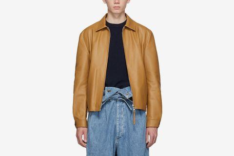 Reversible Leather Jacket