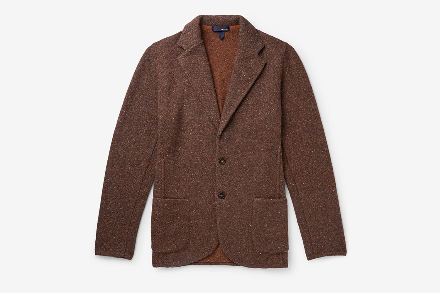 Unstructured Donegal Knitted Blazer