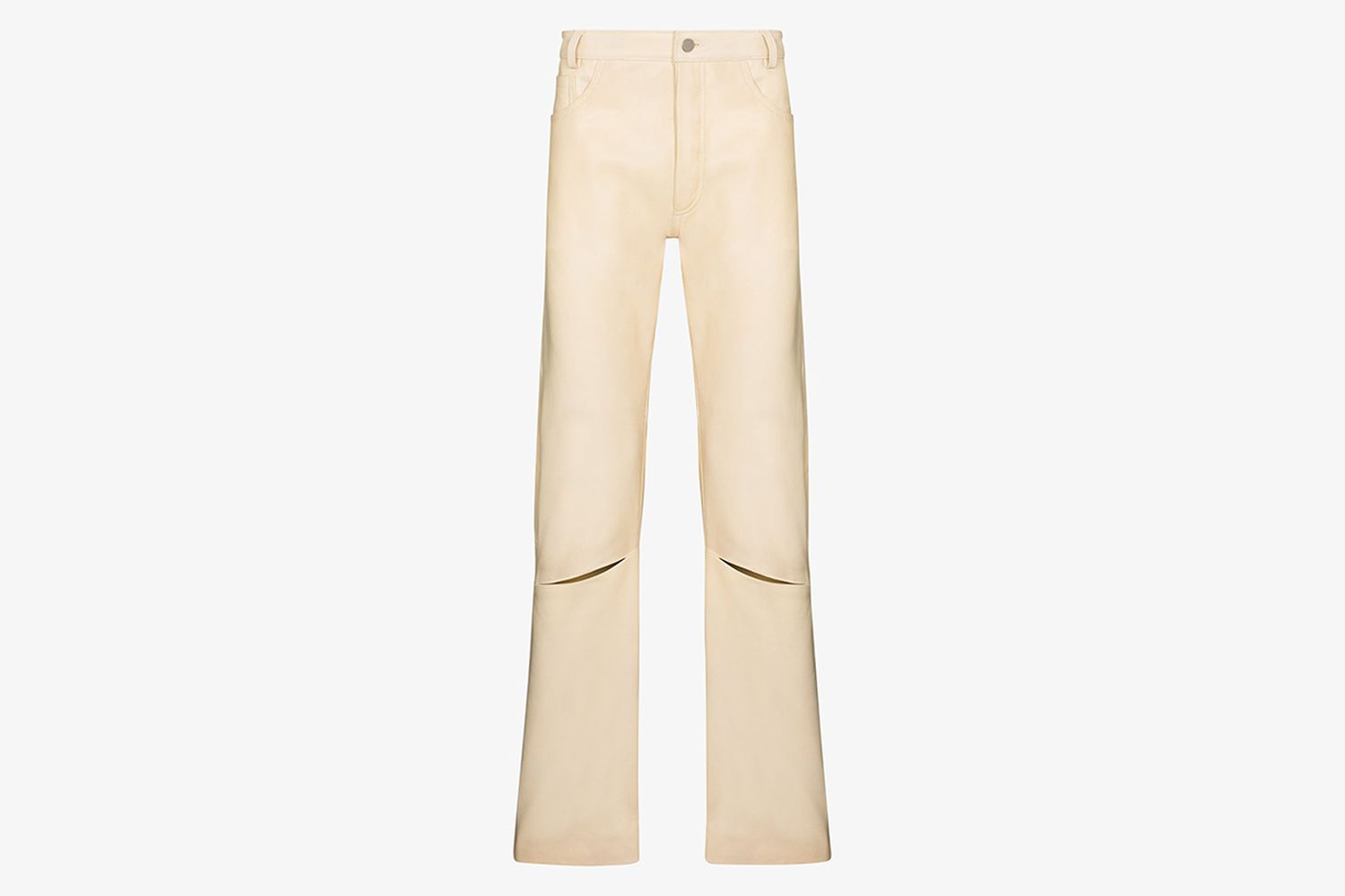 Coil Leather Trousers