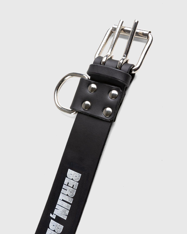 Highsnobiety x Butcherei Lindinger – Belt Black - Image 5