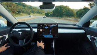 tesla full self driving video