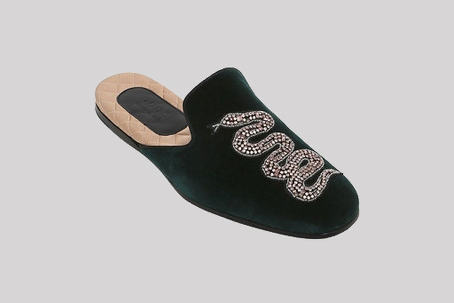 Velvet evening Slippers