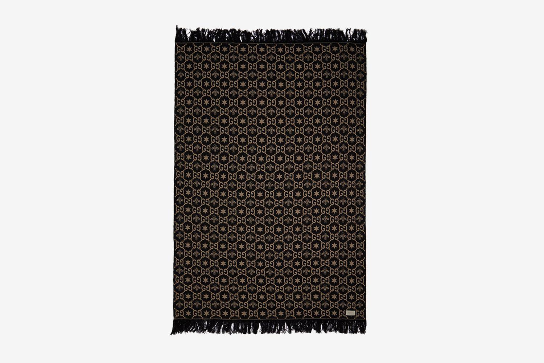GG Bee-Jacquard Blanket