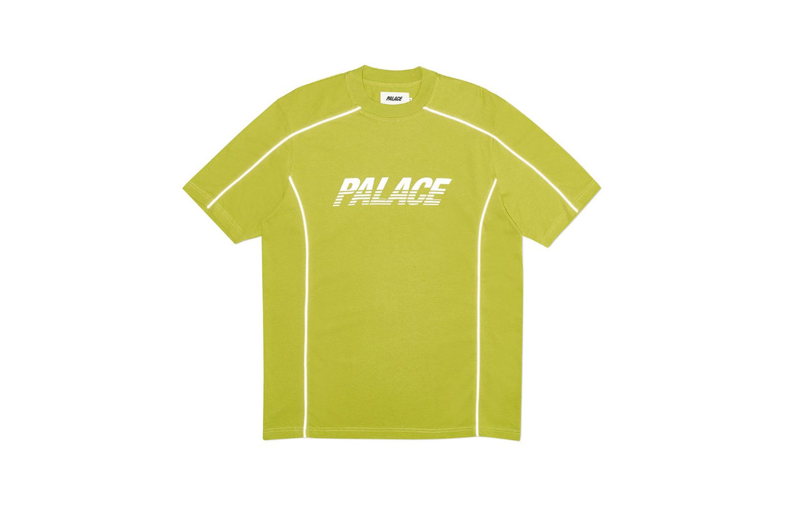 Palace 2019 Autumn T Shirt Pimped green front fw19