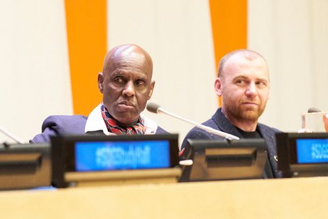 un sustainable fashion conference main Adidas Dapper Dan United Nations