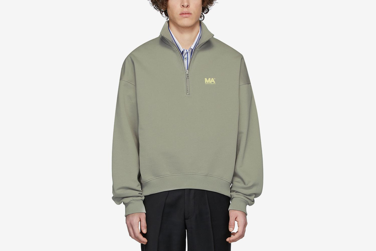 Andrew Zip-Up Sweater