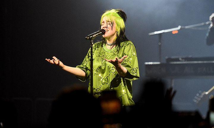 Billie Eilish tour body protest
