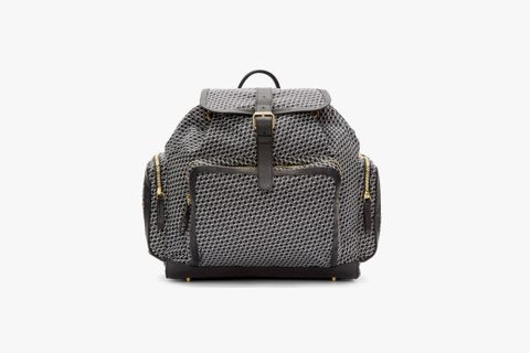 Cube Print Backpack