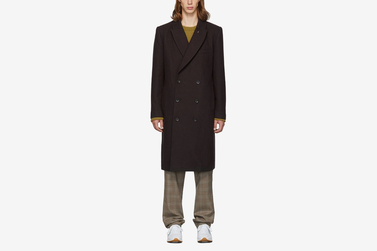 SSENSE Exclusive Wool Double-Breasted Coat