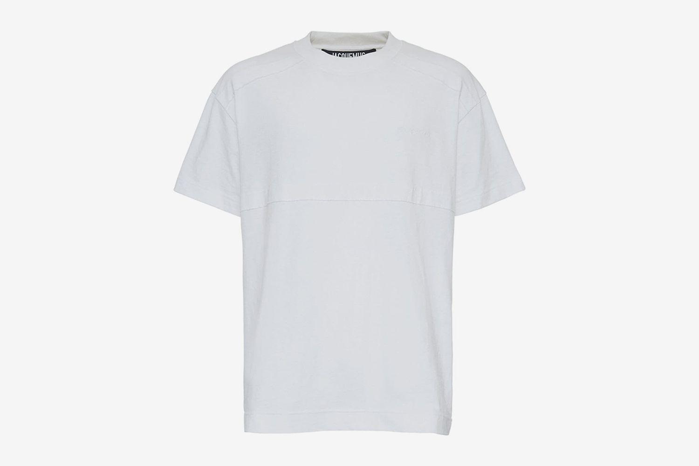 Logo Embroidery Crewneck T-Shirt