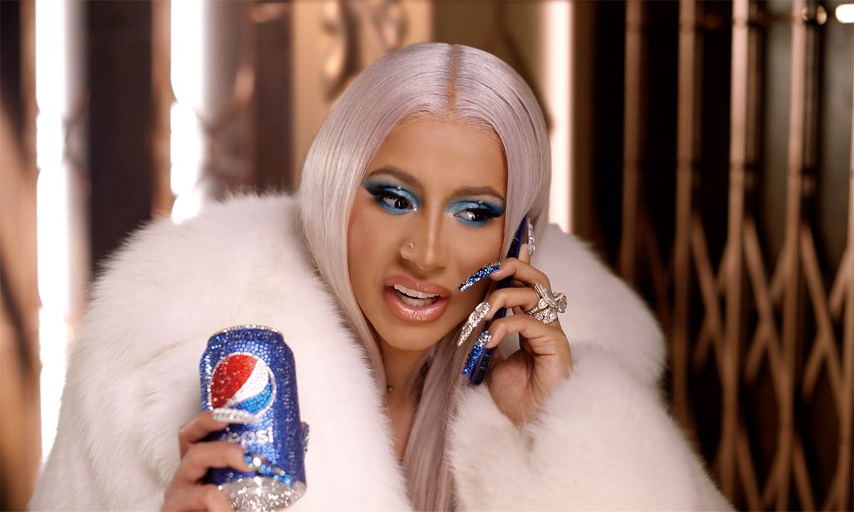 Cardi B Stars In Pepsi S New Christmas Commercial Watch Here