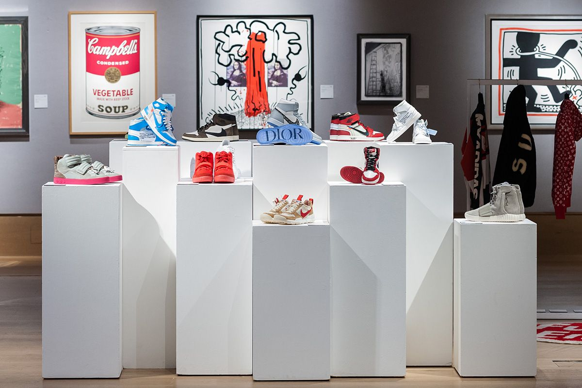 Collection of Nike shoes