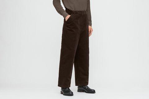Corduroy Wide-Fit Work Pants