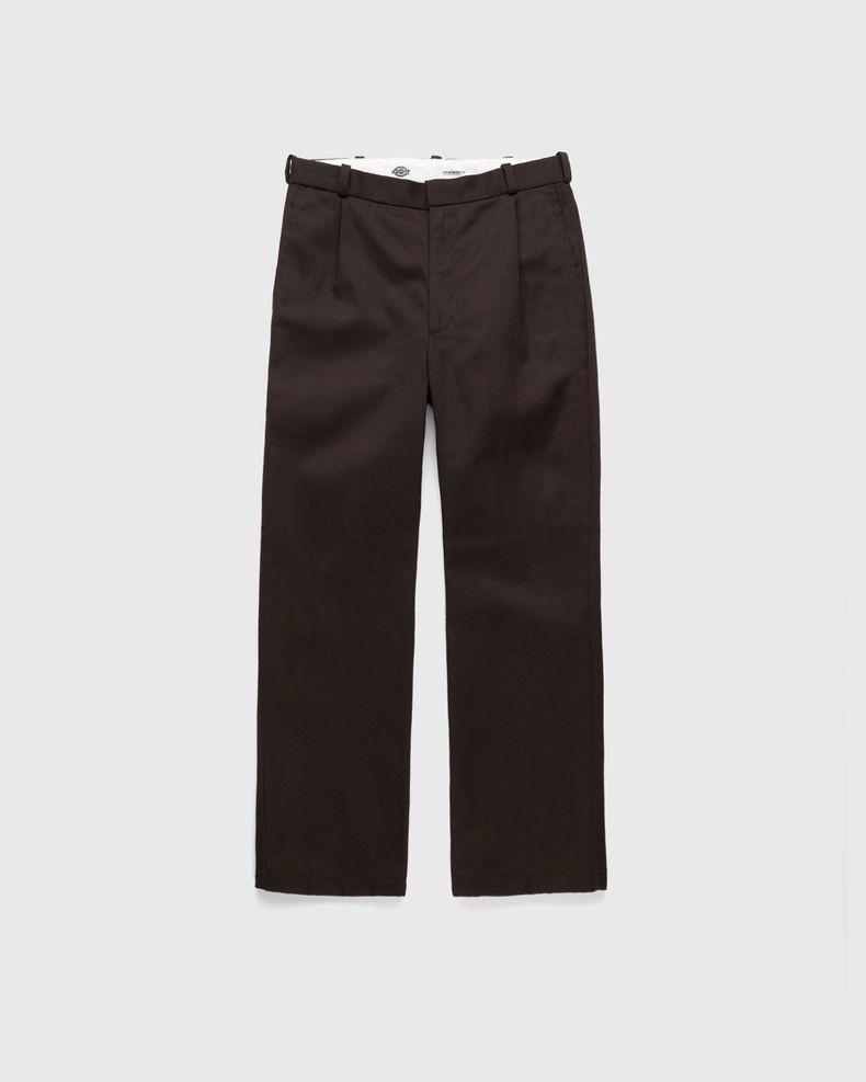 Highsnobiety x Dickies – Pleated Work Pants Dark Brown