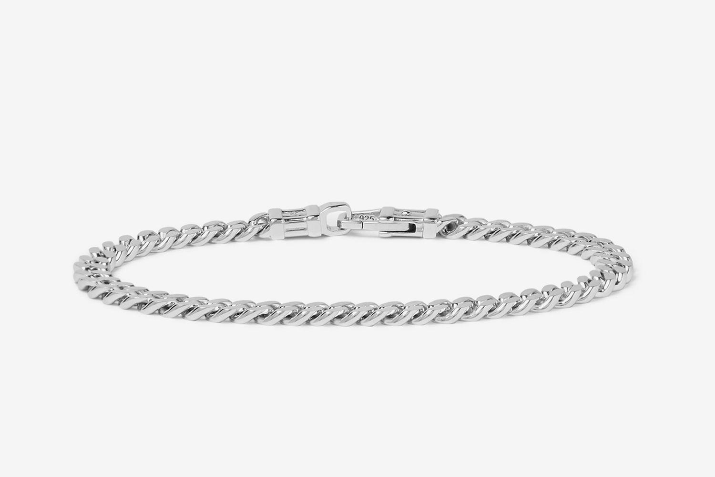 Polished Sterling Silver Bracelet