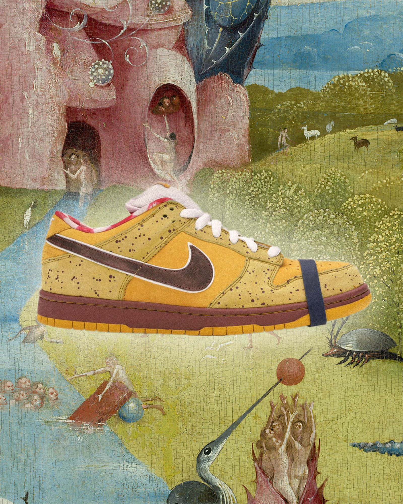 Nike-Dunk-SB Low-Yellow-Lobster