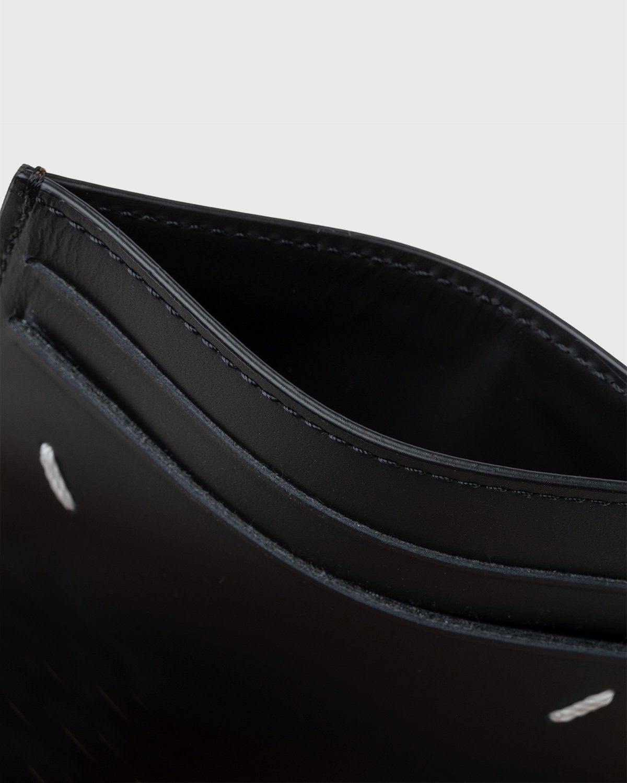 Maison Margiela – Leather Card Holder Brown - Image 4