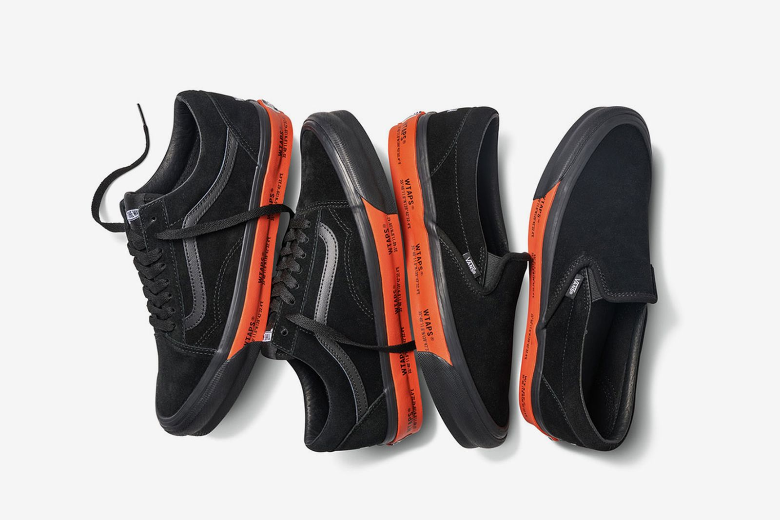 WTAPS x Vans Old Skool Slip-On