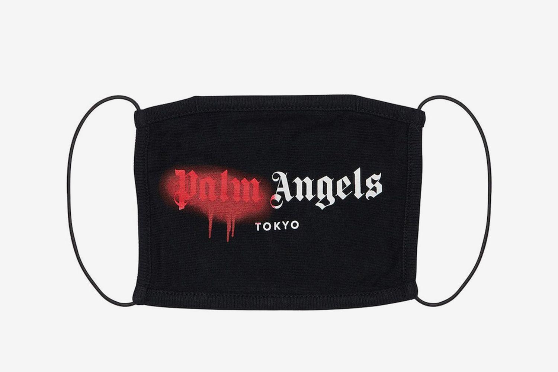 Tokyo Spray Logo Print Cotton Face Mask