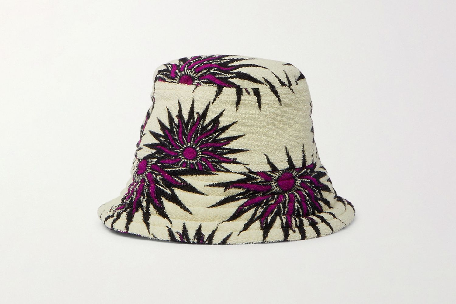 Cotton-Terry Bucket Hat