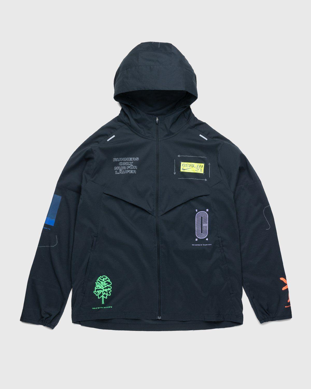 Nike x Highsnobiety – Mens Repel Berlin Windrunner Jacket Black - Image 1