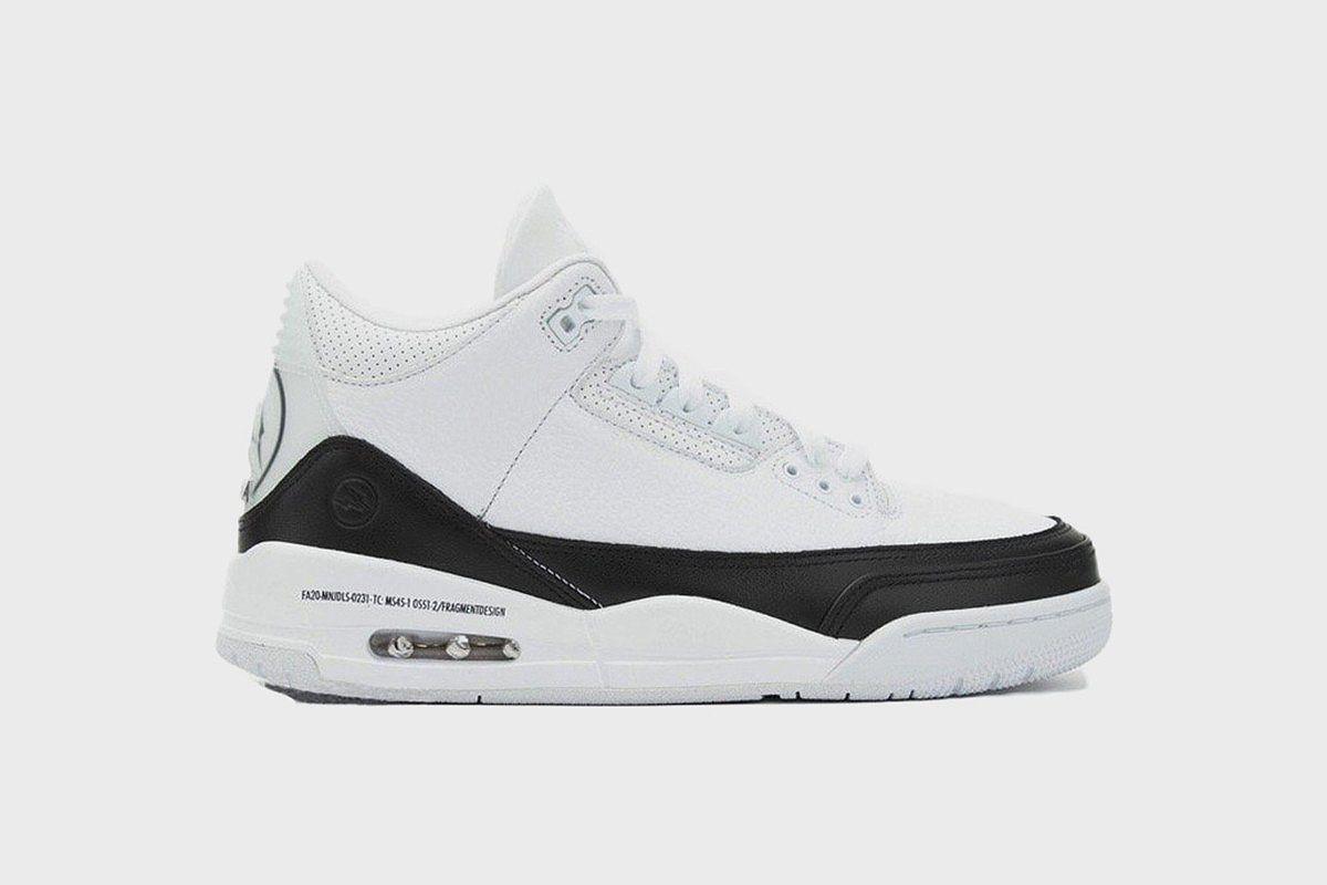 Where to Buy the fragment design x Nike Air Jordan 3 Early 3