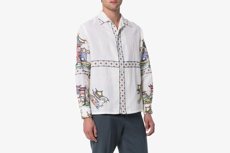 Jaipur Embroidered Shirt