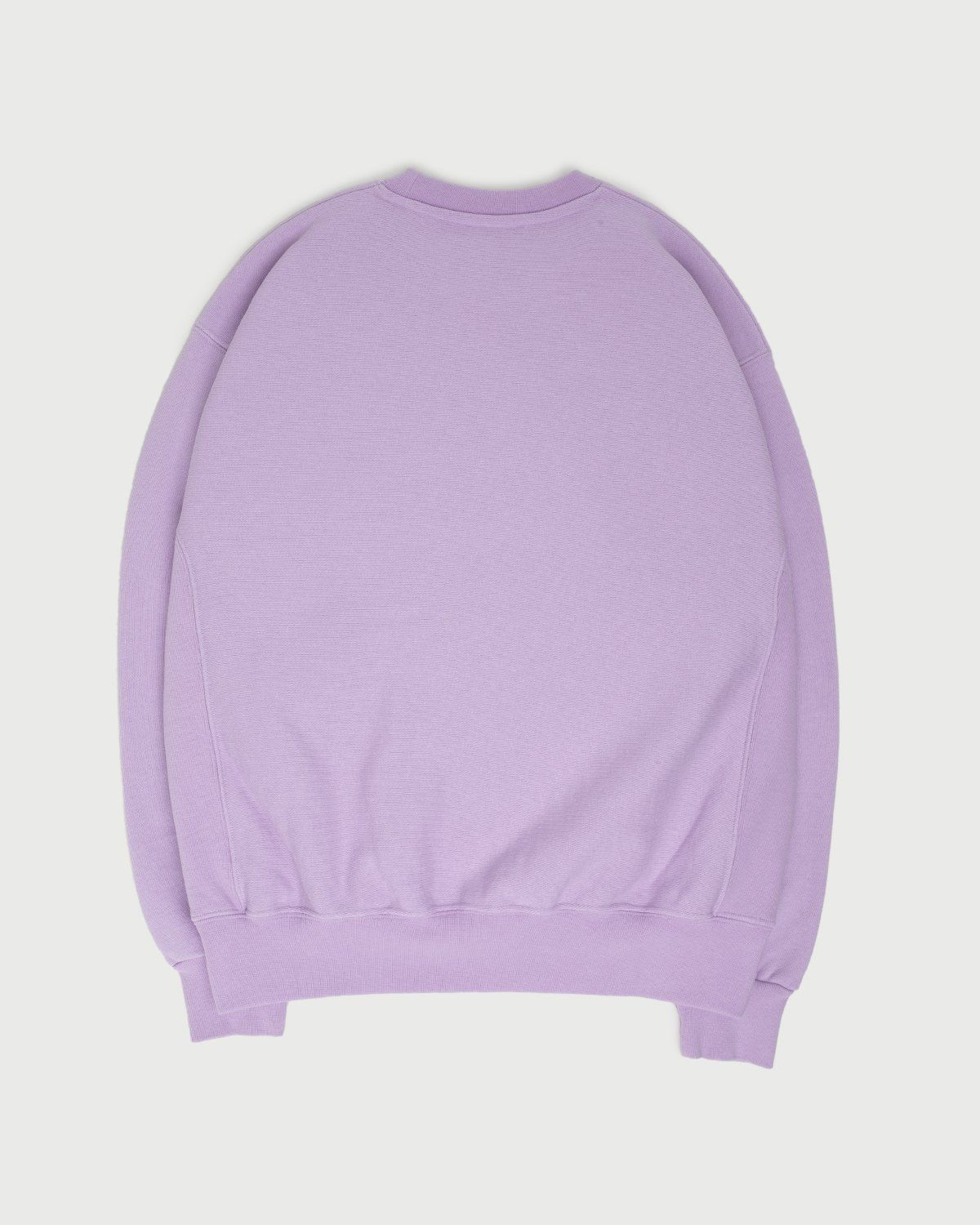 Aries - Embroidered Temple Sweatshirt Unisex Orchid - Image 3