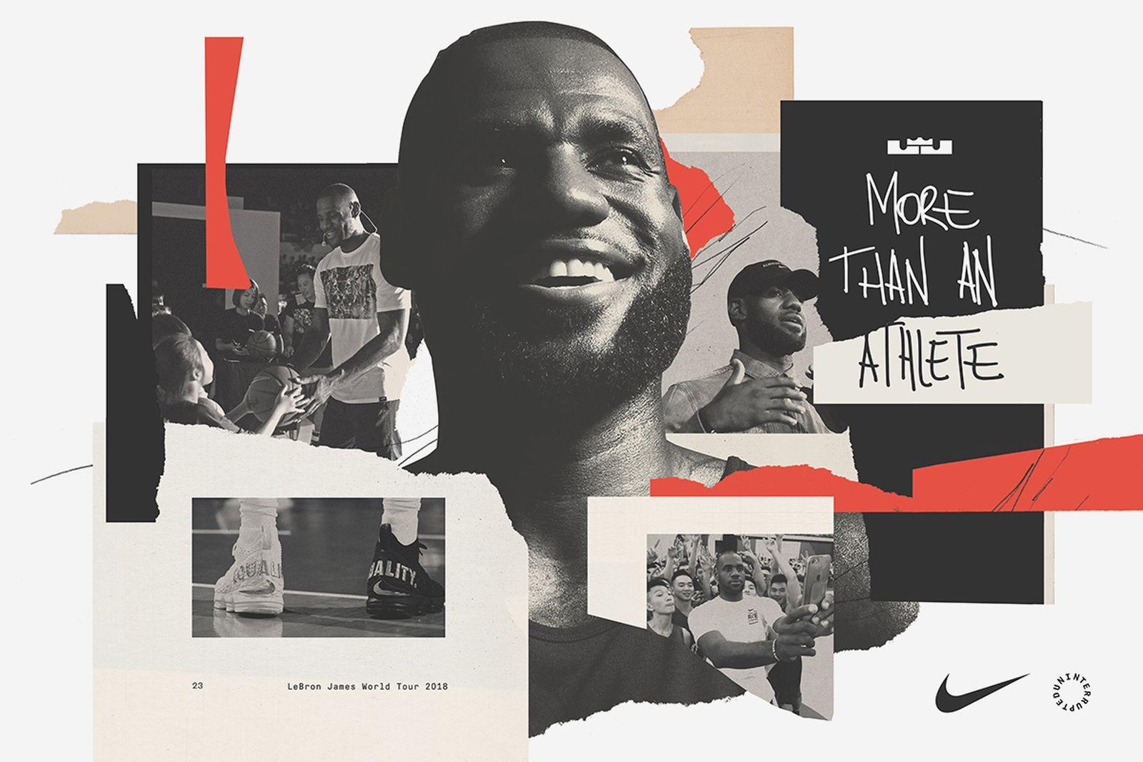 lebron james pick up games shanghai paris berlin Nike