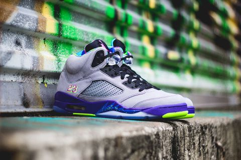 best authentic 56fa7 240a2 The reincarnated Nike Air Jordan 5 Retro brings back the translucent sole  and legendary design to tell the story of The Fresh Prince of Bel-Air and  his ...