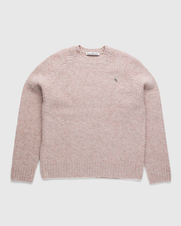 Acne Studios – Knit Sweater Pastel Pink - Image 1