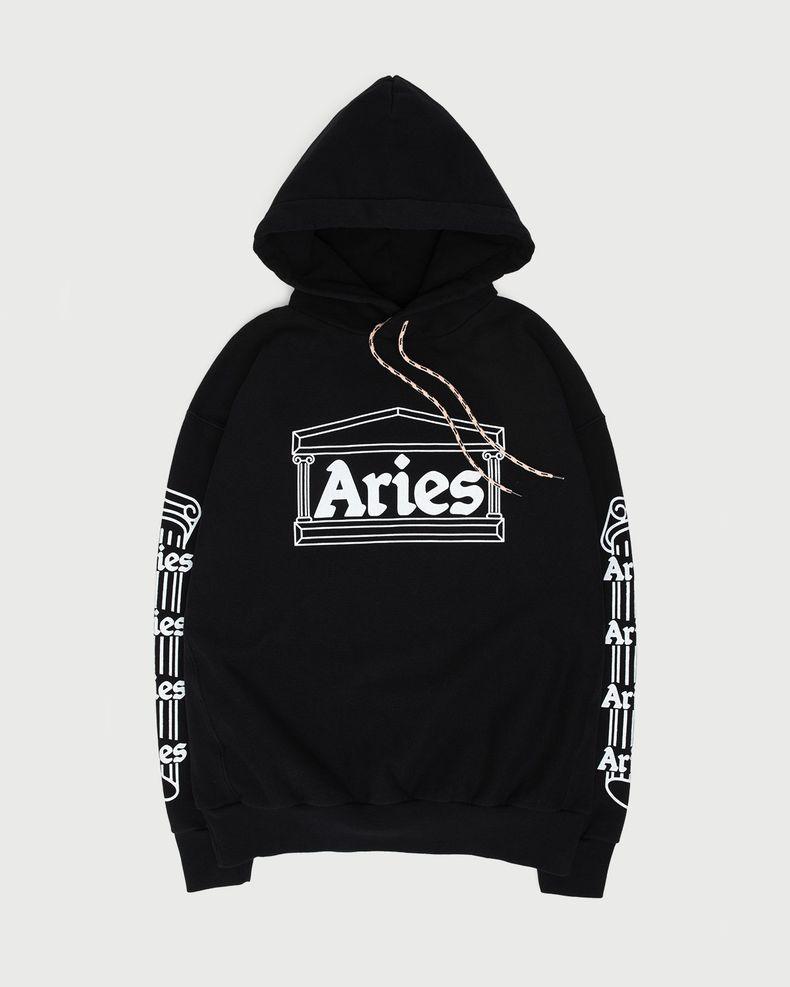 Aries — Temple Hoodie Black